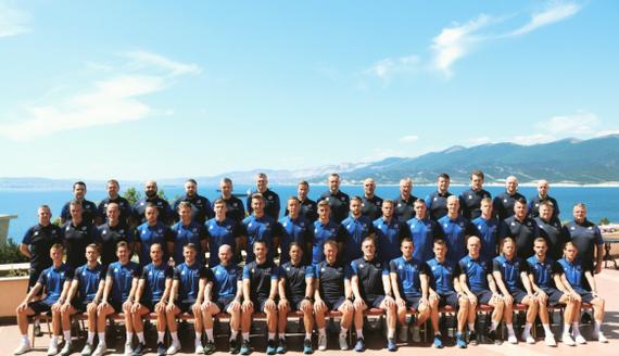 Сборная Исландии по футболу поблагодарила Россию за тёплый приём Футбол, Сборная Исландии, Чемпионат мира по футболу 2018, Прощание
