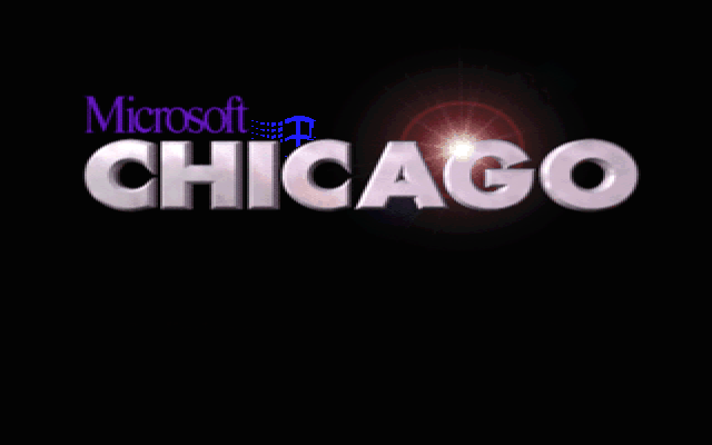 Windows Chicago Chicago, Windows Chicago, Ностальгия, 90-е, Компьютер