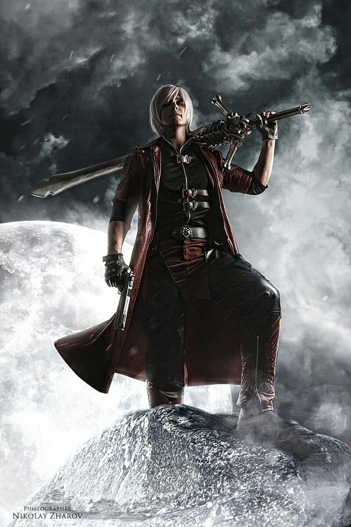 Dante - by -Istvaan V Косплей, Игры, Devil may cry, Данте, Русский косплей, Istvaan v, Длиннопост