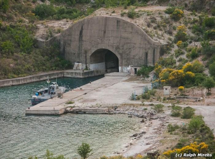 Албания: Подземная база флота Порто-Палермо Забугорныйурбан, Урбанфакт, Албания, Длиннопост
