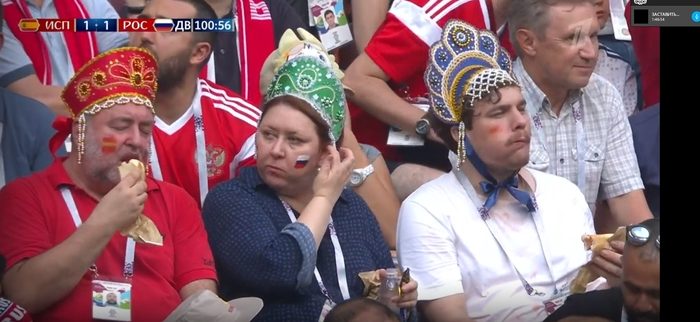 Когда ты фанат и в России