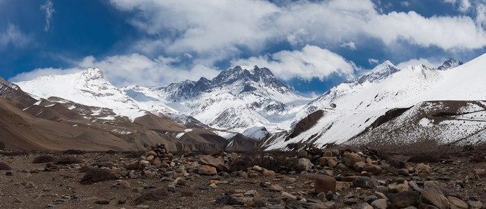 Непал. Гималаи. Якава-Канг, Yakawa Kang (вершина 6,482m)