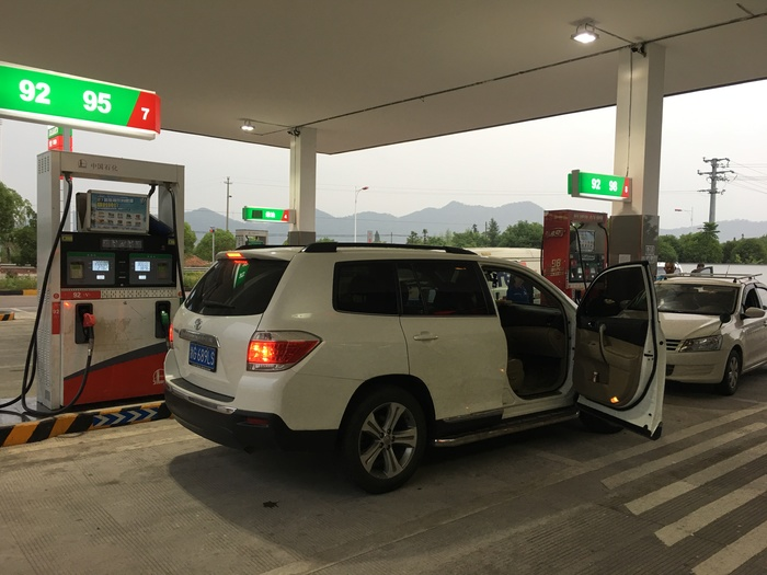 Цены на бензин в Китае Китай, Бензин, Цены, Длиннопост