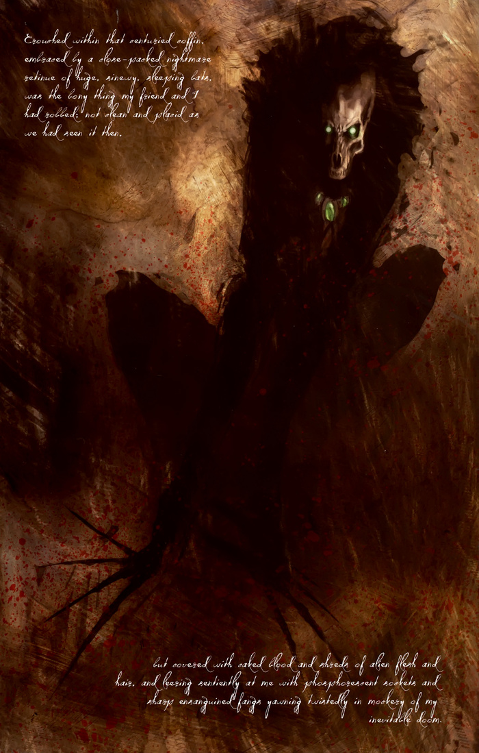 Ужас Данвича. Комикс по Г.Ф.Лавкрафту Комиксы, Говард Филлипс Лавкрафт, Ужасы, Йог-Сотот, Ктулху, Обзор, ИМХО, Длиннопост