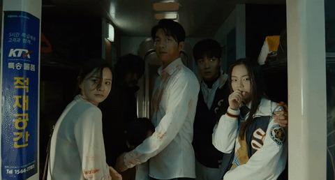 За кадром: Поезд в Пусан Актеры, Фильмы, Поезд в пусан, Гифка, Фильмы ужасов, Южная корея, Длиннопост