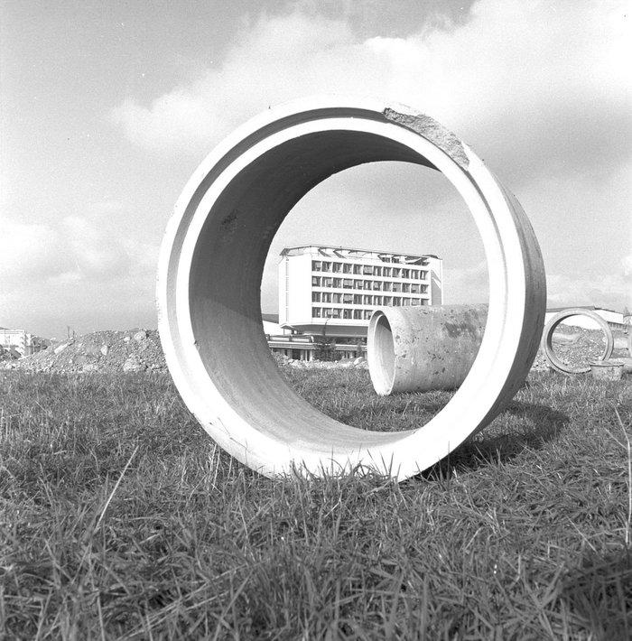 Главное здание CERN. 1962 год.