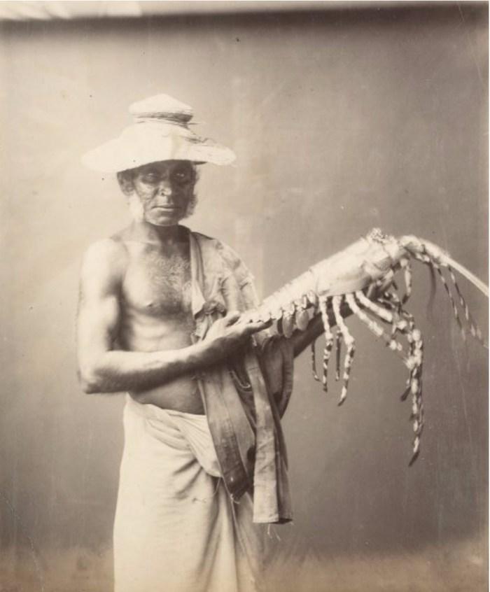 Рыбак с лобстером 1885