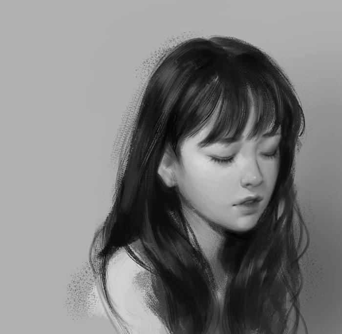 Несколько рисунков J. Won Han Арт, J Won Han, Длиннопост