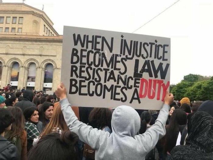 """""""Когда несправедливость становится законом, сопротивление становится долгом"""""""