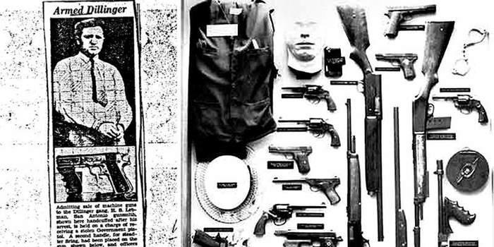 Уникальные «Кольты» для грабителей банков Оружие, кольт 1911, США, пистолеты для гангстеров, длиннопост