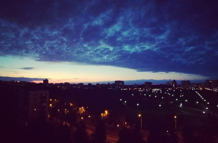 Nights in white satin... never reaching the end Фотография, Панорама, Сумерки, Ночь, Санкт-Петербург, Лето