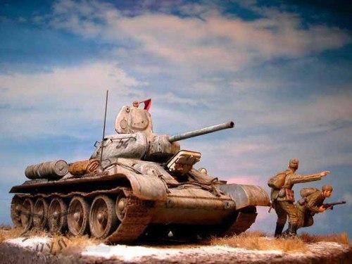 Вперед!!! Моделизм, стендовый моделизм, Великая Отечественная война, длиннопост