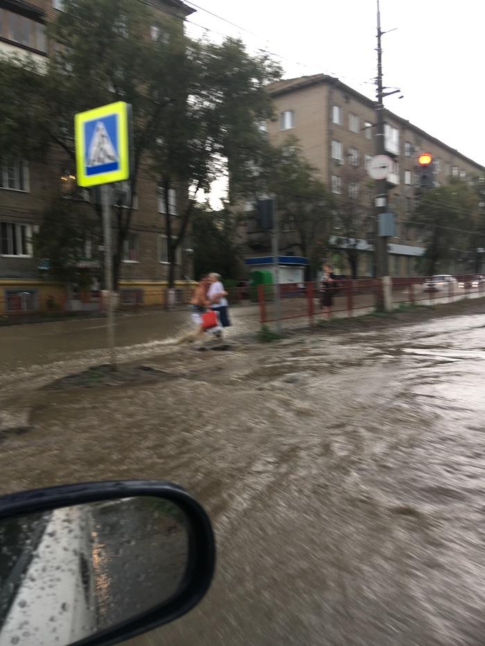 Волгоград сегодня Волгоград, Ливень, Пробки, Длиннопост
