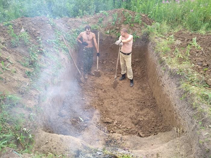 Продолжаем строить бункер Бункер, Строим бункер своими руками, Постапокалипсис, Длиннопост