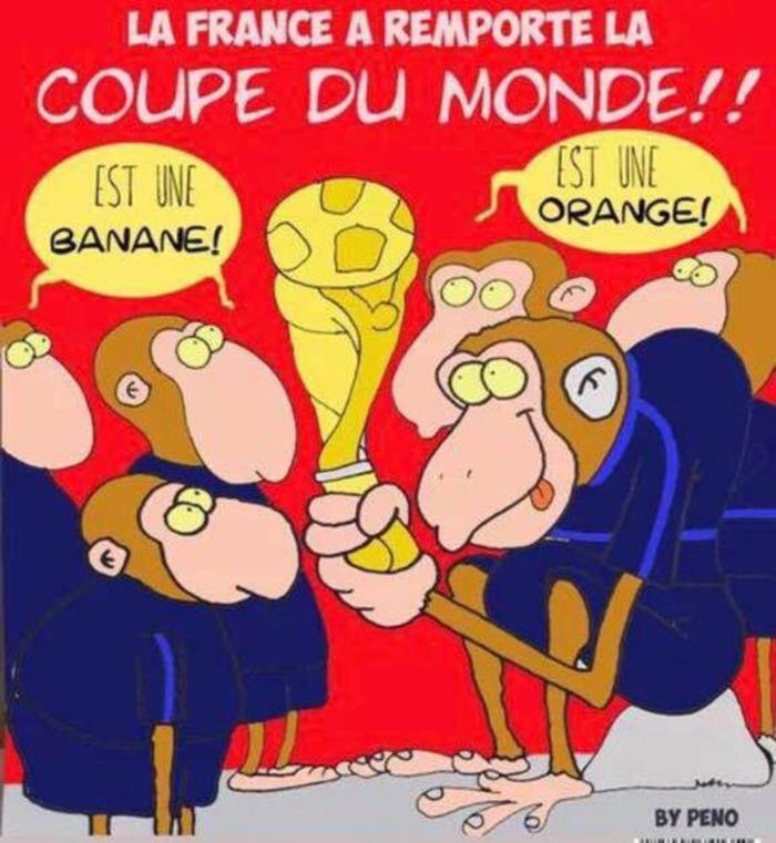 Сборная Франции выиграла Мундиаль Футбол, Франция, Сборная, Сборная Франции, Расизм, Charlie Hebdo, Фейк