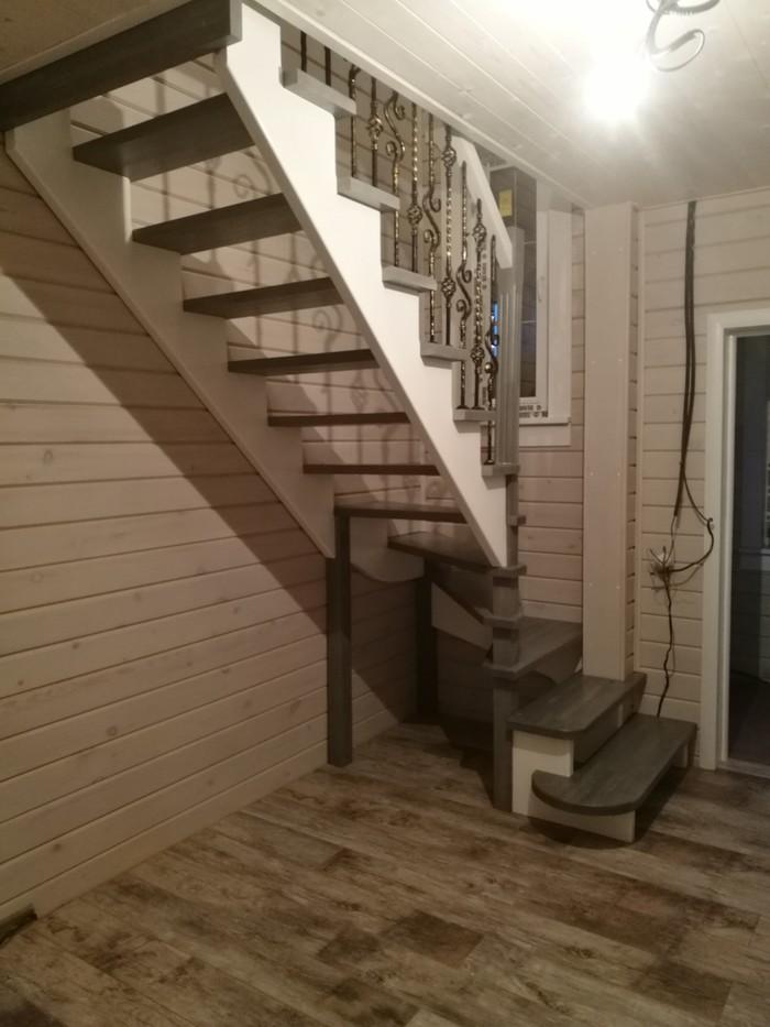 Уютная лестница на даче Ковка, Дом, Интересное, Длиннопост, Лестница