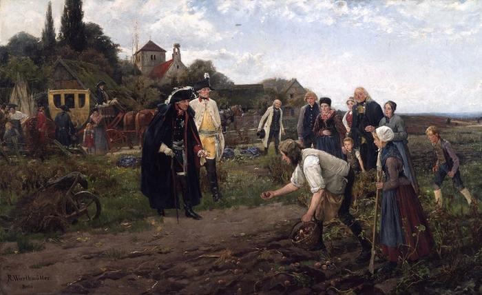 Картофельные бунты в России