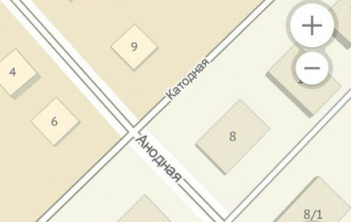 Электродная карта Новосибирская