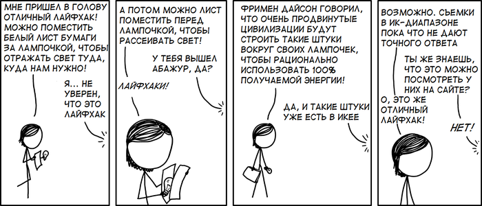 Ламп-хаки Xkcd, Перевод, Комиксы, Физика, Юмор, Профессиональный юмор