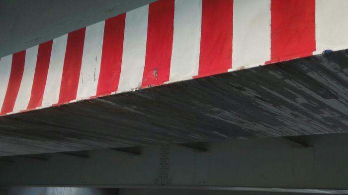 152я Газель снесла кузов под Мостом Глупости Моё, Мост глупости, Длиннопост, Twitter, Блог, ДТП, Санкт-Петербург, Колпино