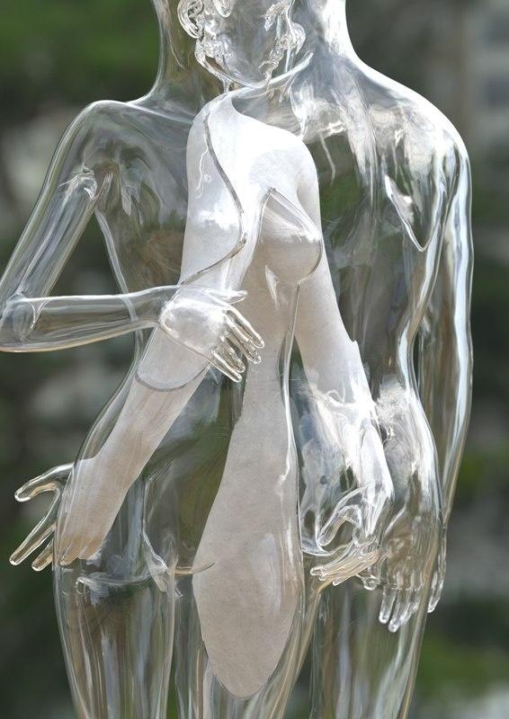 «Пересечение» Искусство, Креатив, Zanamiclub, Kyuin Shim, Арт, Длиннопост