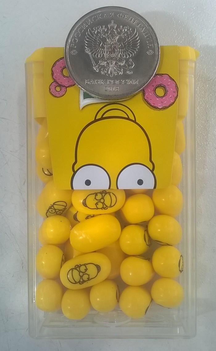 Симпсоны - конфетки. Гомер Симпсон, Барт, Мардж, Симпсоны, Конфеты, Маркетинг, Длиннопост