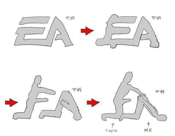 Ещё мем про ЕА EA games, Гомосексуализм, Dlc, Обман, Подлость, Клубничка