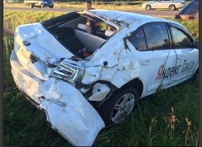 18-летняя пассажирка насмерть разбилась в «Яндекс.Такси» Такси, Яндекс такси, Яндекс, ДТП, Длиннопост, Новости
