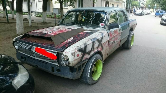 Нечто, разъезжающее по улицам Краснодара... Чудо машина, Нечто, О боже мои глаза