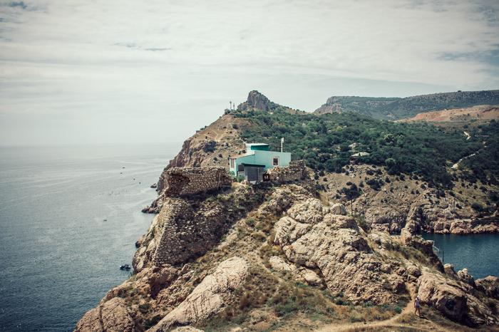 Балаклава, Крым Крым, Балаклава, Море, Горы, Фотография, Canon, Длиннопост