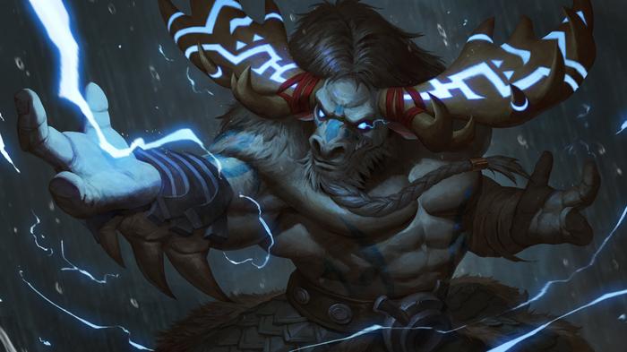 Несколько артов отNat10730 Арт, Wow, Warcraft, Таурены, Ночные эльфы, Ворген, Длиннопост, Blizzard, World of Warcraft