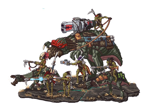 Kroot Ravagers