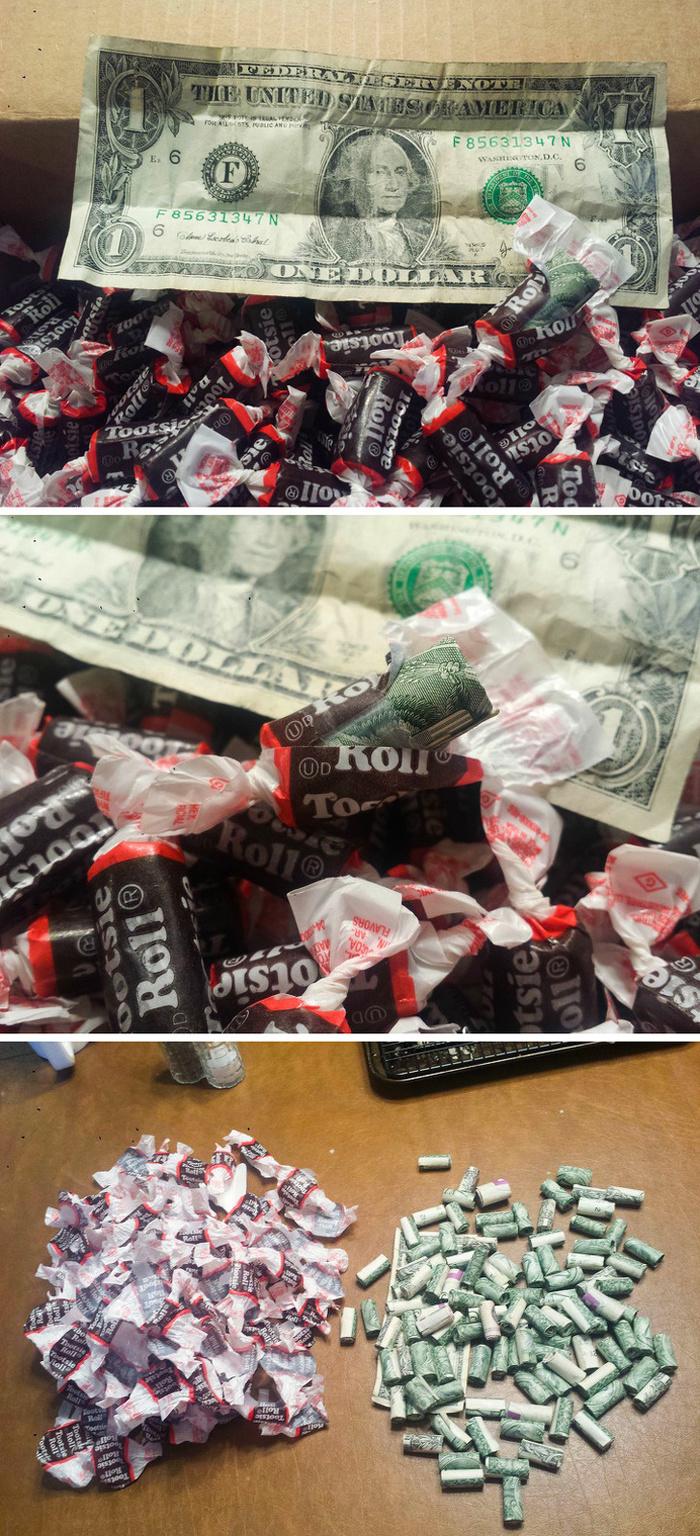 Чудо-конфетки Конфеты, Фантик, Деньги, Длиннопост