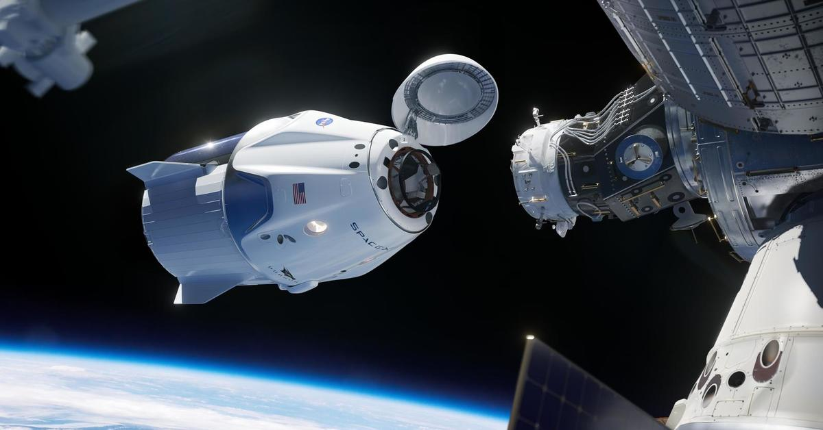dragon spacecraft video - HD 1920×1080