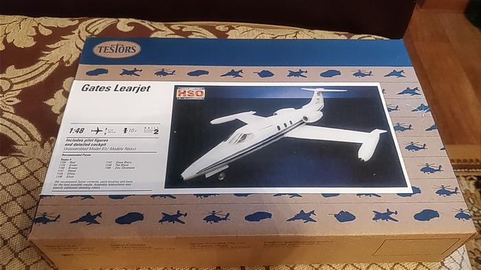 Gates Learjet 24D Часть 1 Стендовый моделизм, Авиация, Сборка, Модели, Моделизм, Длиннопост