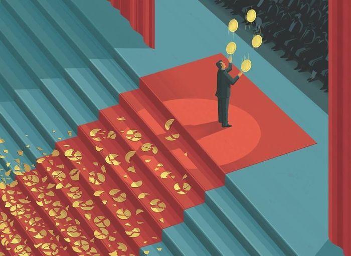 Простые иллюстрации о сложностях жизни Иллюстрации, Метафора, Стефан Шмитц, Химчитка, Дизайн, Студия бренда, Brendaru, Длиннопост