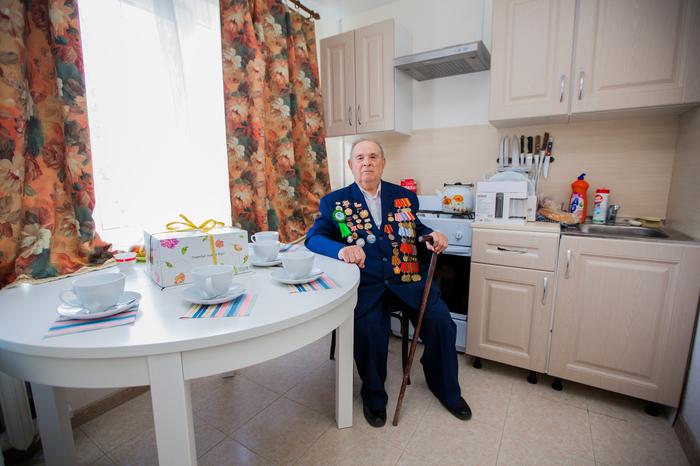 Ветерану, освобождавшему Кубань, чиновники сделали ремонт в квартире Кубань, Война, Ветераны, Ремонт