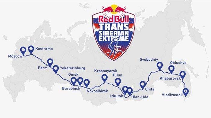 Red Bull Trans Siberian Extreme Велоспорт, Транссибирская магистраль, Red Bull Trans Siberian Extrem