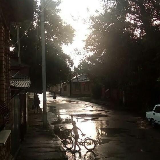 Дождик прошел