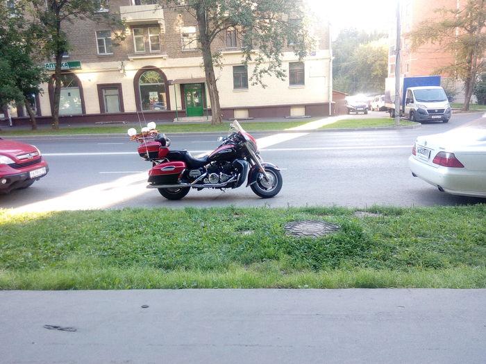 Ничего особенного, просто мотоцикл с люстрой Мотоциклы, Интересное, Длиннопост