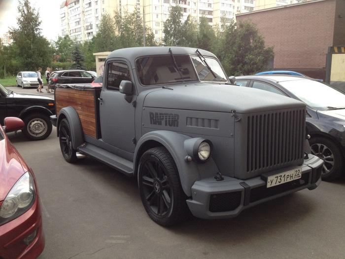 Когда твой брат-близнец уехал в Москву еще маленьким и прислал тебе в деревню свою фотку Газ-51, Реинкарнация, Машина, Старое фото, Реставрация