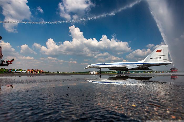Полет ради полета... Жуковский, Ту-144, Ту-134, Полет, Не мое