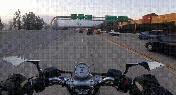 Внезапно #34 ДТП, США, Мото, Мотоциклист, Перевертыш, Падение, Внезапно, Гифка, Видео