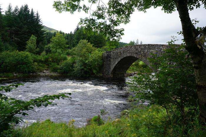 Мост через реку Орчи, Шотландия и сама Орчи Фотография, Природа, Шотландия, Начинающий фотограф, Река, Мост