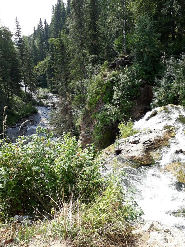 Пещерский водопад Алтайский край, Водопад, Длиннопост
