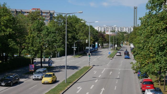 Худший район Мюнхена (или нет?) - Часть 2 Германия, Мюнхен, Спальные районы, Спальный район, Архитектура, Высотки, Бавария, Город, Длиннопост
