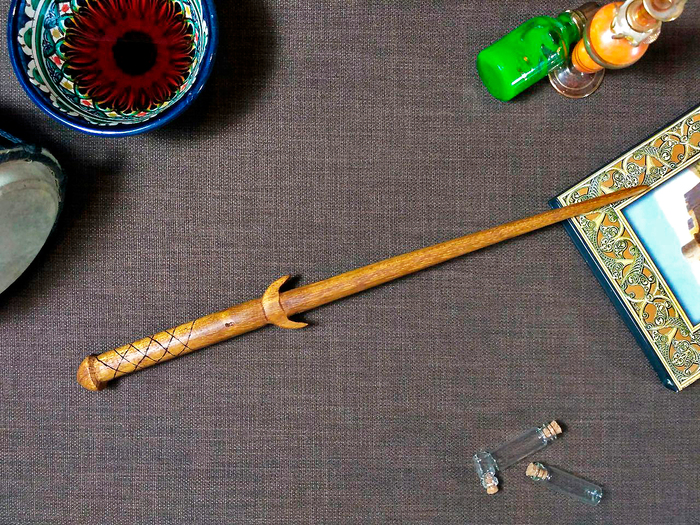 Волшебная палочка из ироко Волшебная палочка, Гарри Поттер, Джоан Роулинг, Своими руками, Рукоделие без процесса, Работа с деревом, Длиннопост
