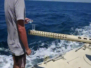 Стабилизация орудия на воде