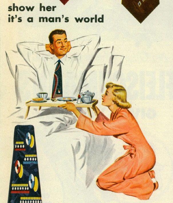 Реклама, которая была бы запрещена в наше время Реклама, Мужчины и женщины, Запрет, Длиннопост