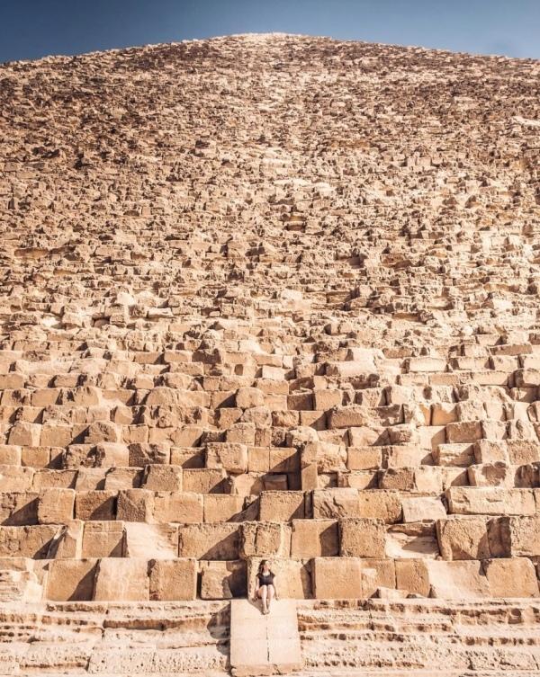 Безумный взгляд на то, насколько огромна Великая Пирамида в Гизе